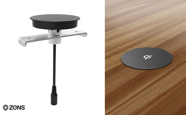ZENS Built-in Wireless Surface Charger for Consumers