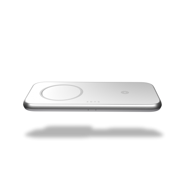 ZEDC16W - Zens 3 in 1 MagSafe Wireless Charger Front Top View