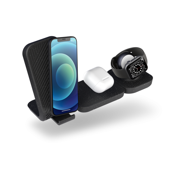 ZEMSC2P - Zens Modular Stand Wireless Charger With Extensions And Devices