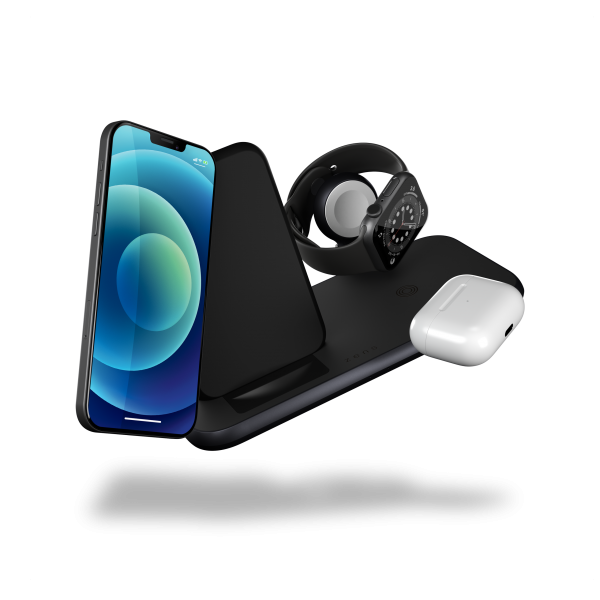 ZEDC15B - 4 in 1 Stand+Watch Wireless Charger Aluminium Floating Products