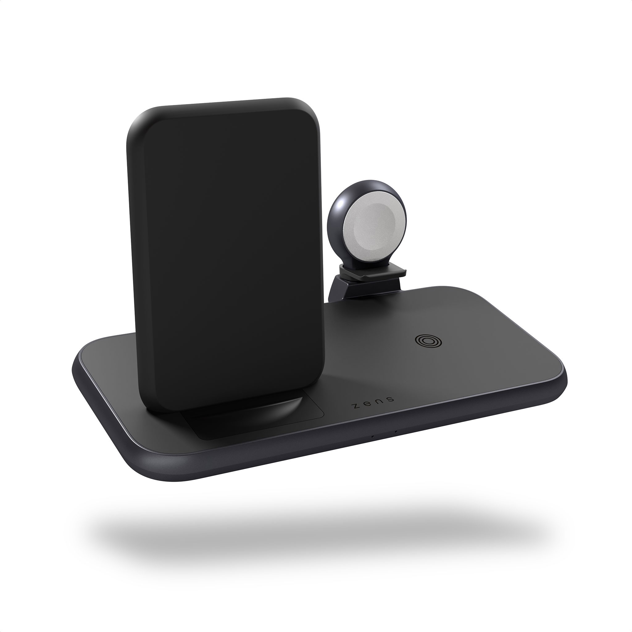 ZEDC15B - 4 in 1 Stand+Watch Wireless Charger Aluminium