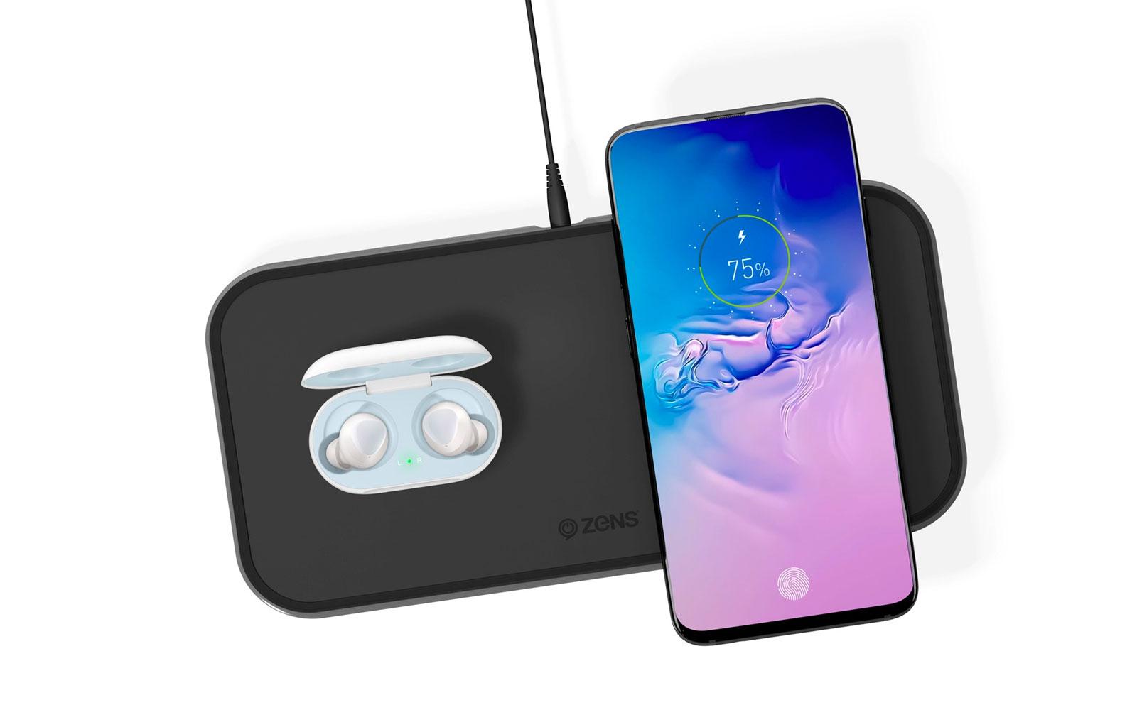 Samsung smartphone and buds