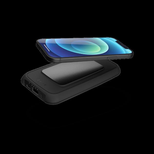 Wireless Powerbank with Adhesive grip
