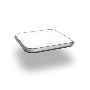 Single Aluminium Wireless Charger side view