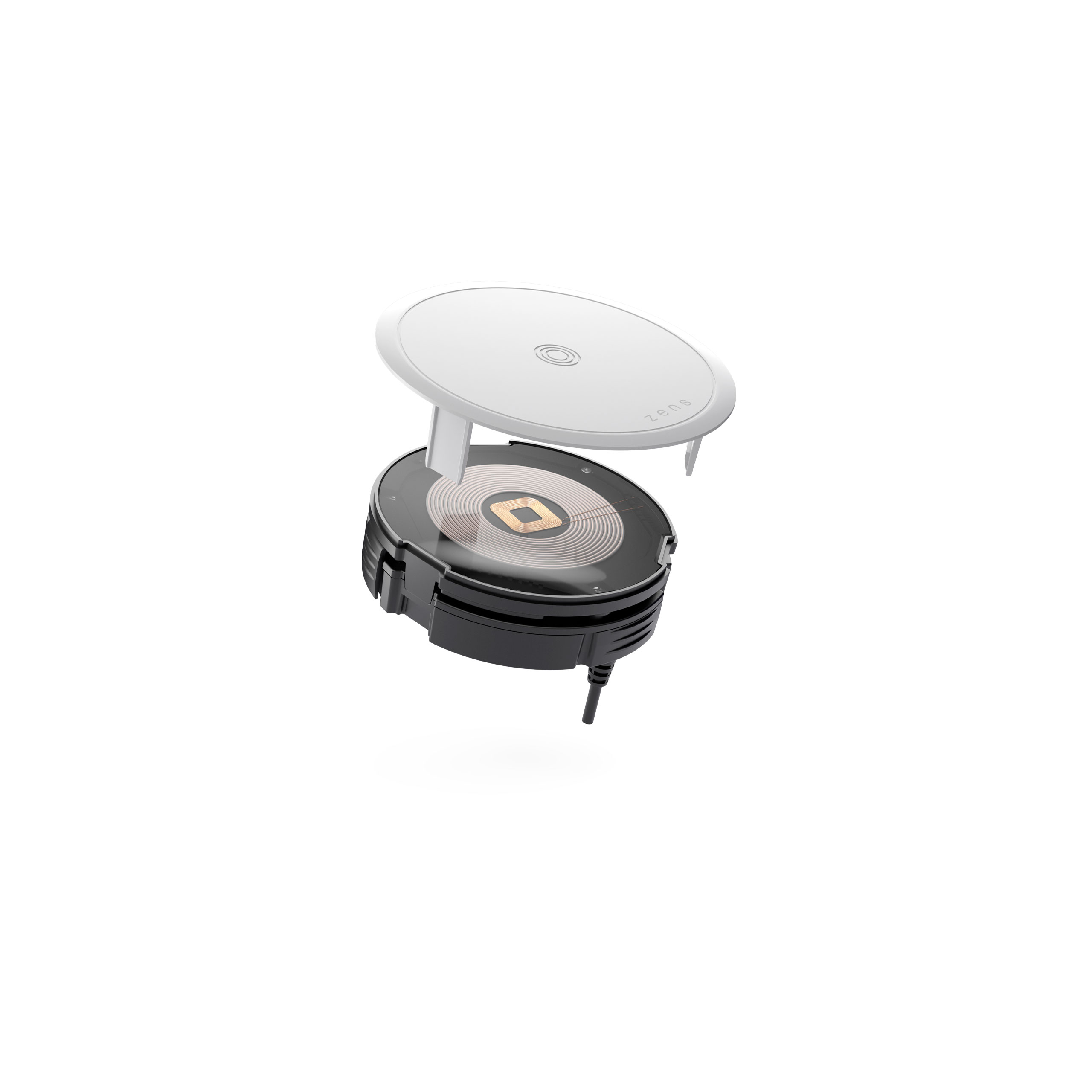 ZETC07N - Zens PuK 3 Wireless Charger Front Side View