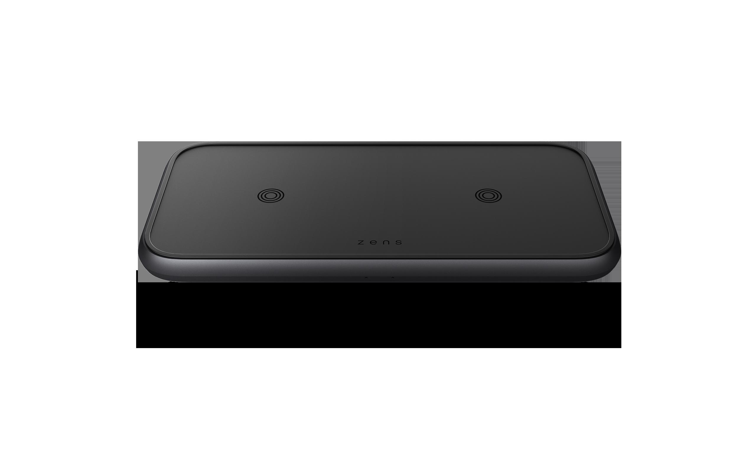 Aluminium dual charger black