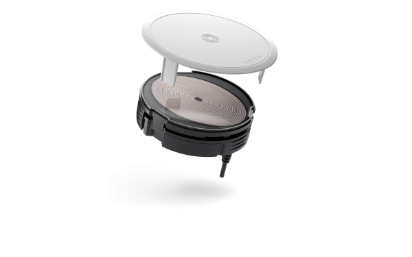 PuK Base 1 Built-in Wireless Surface Charger white