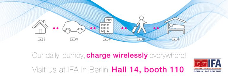 ZENS Wireless Charging Solutions at IFA 2017