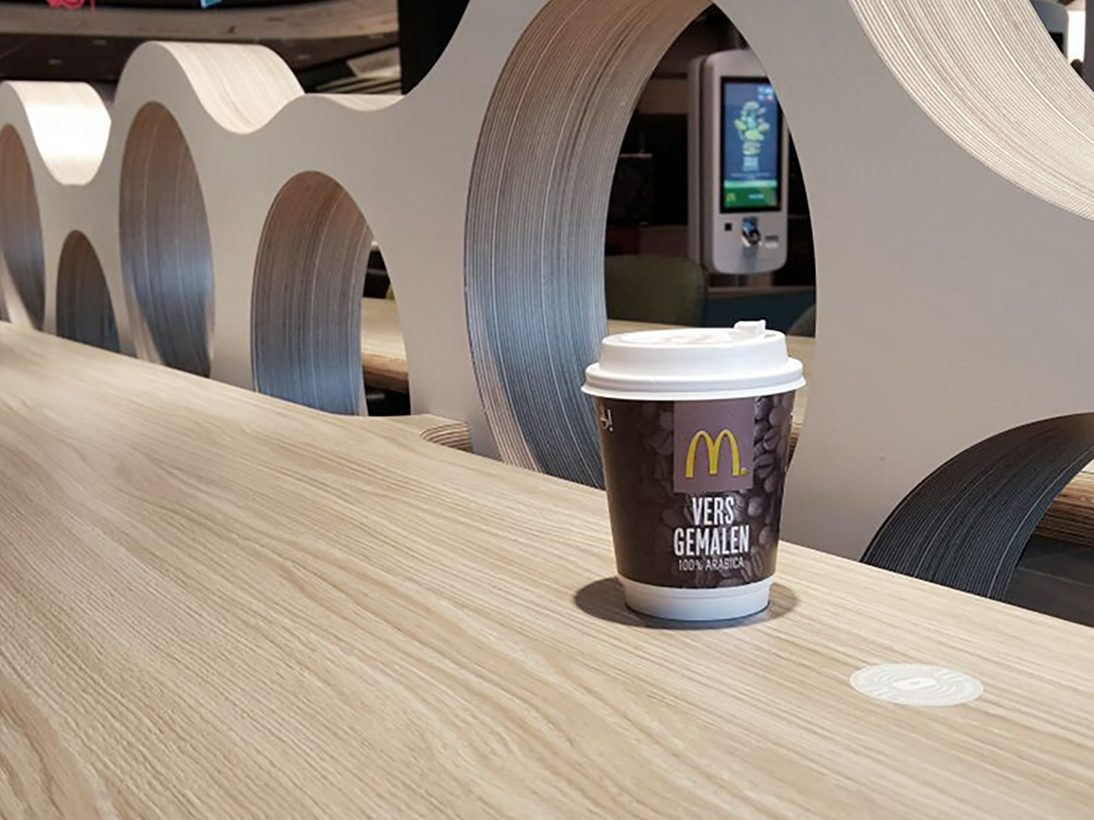 Zens hospitality charge at McDonnalds