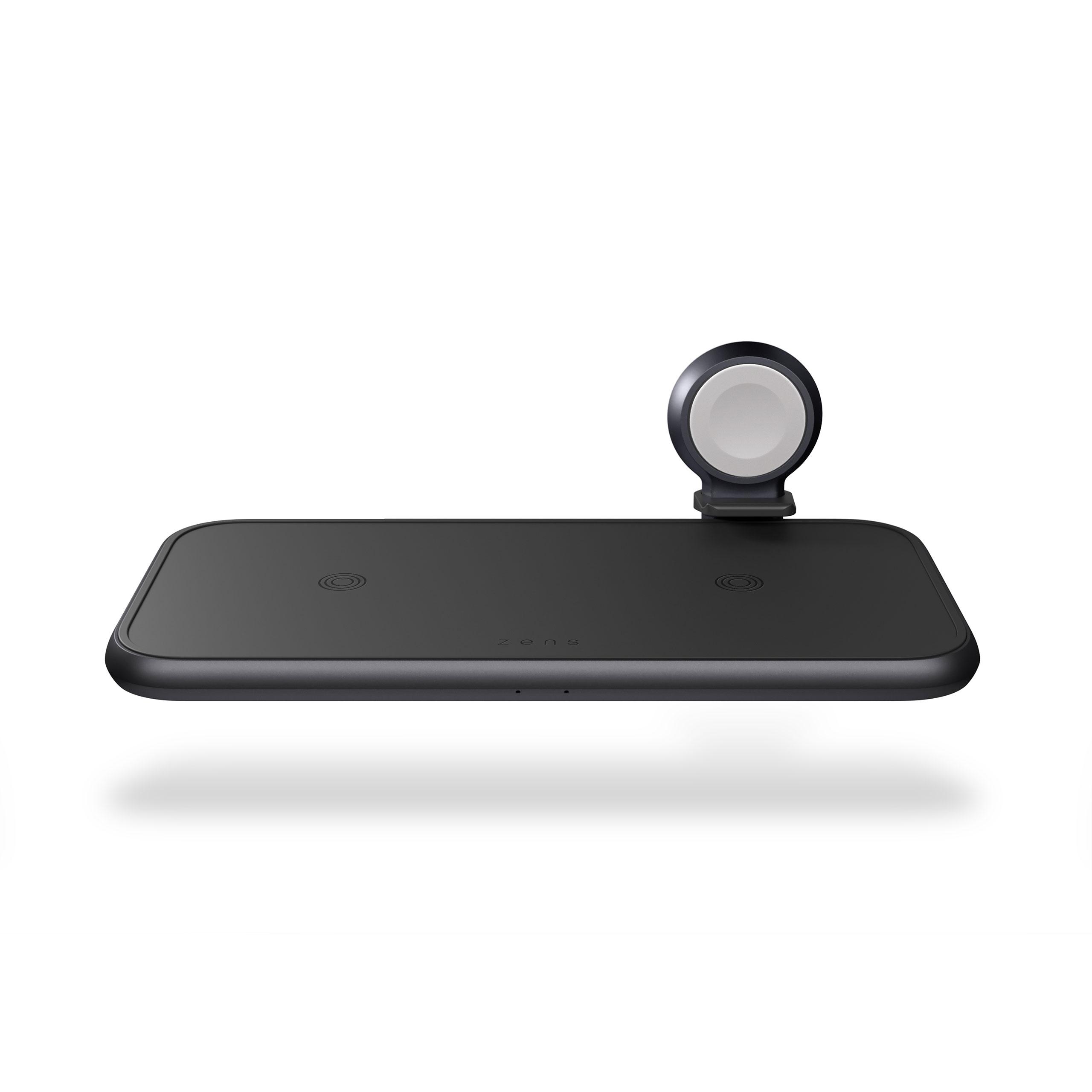 ZEDC14B - Zens 4-in-1 Wireless Charger Front Top View