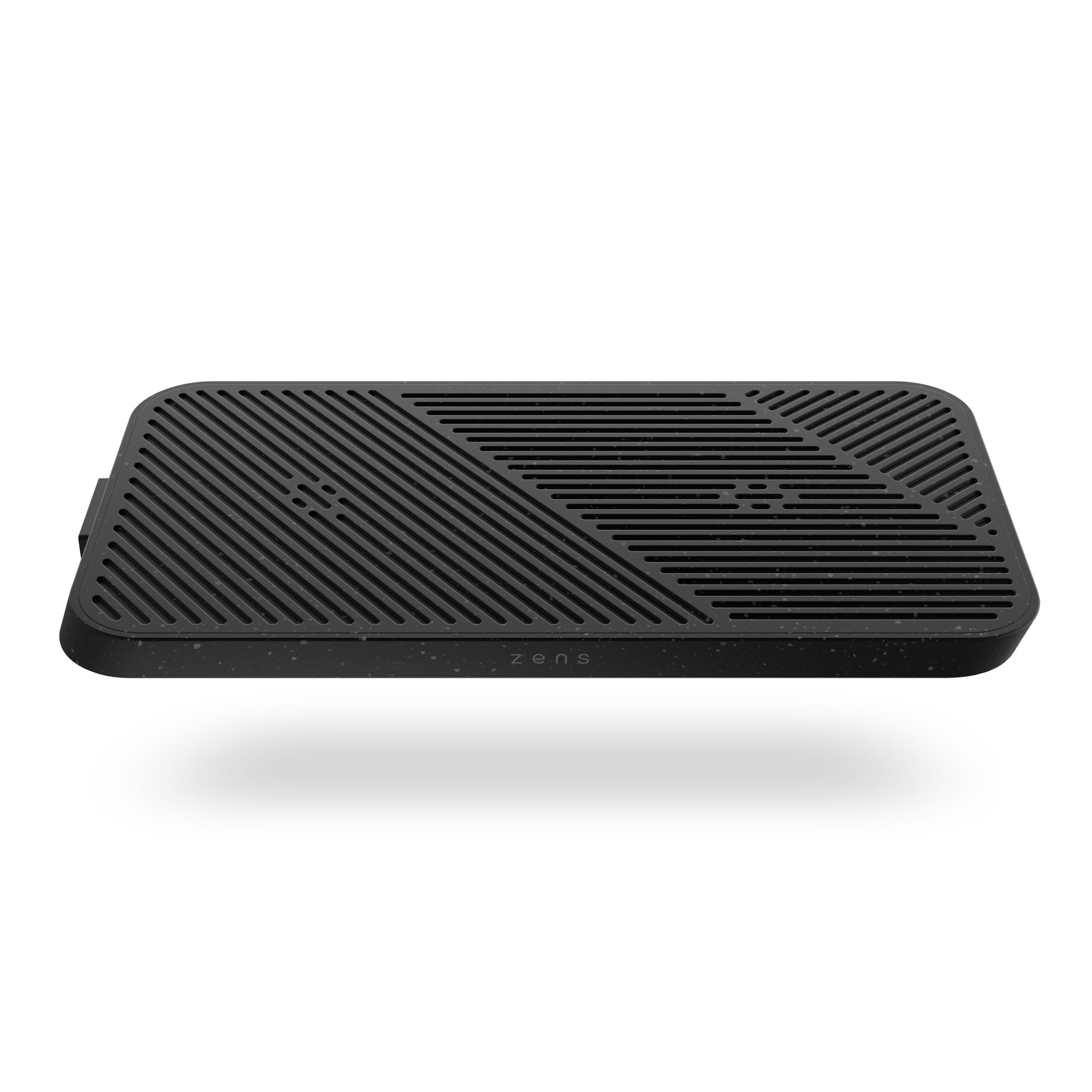 ZEMDC01P Zens Modular Dual Wireless Charger Main Station Front Top View