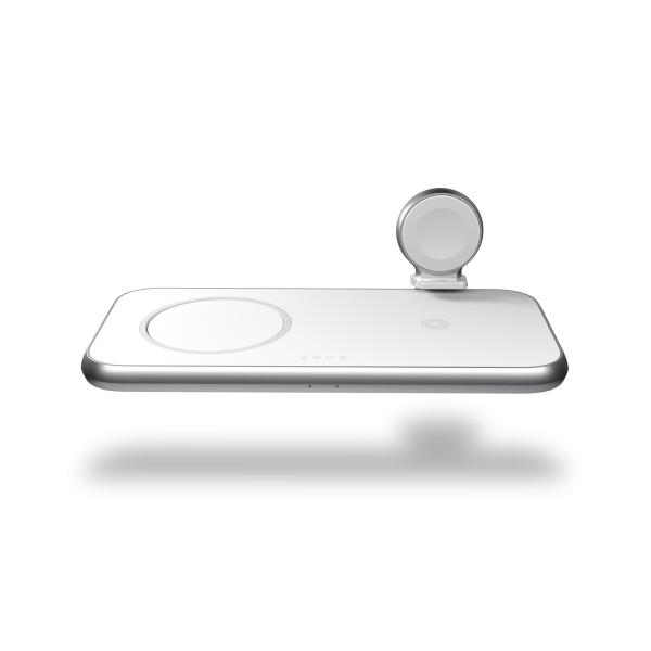 ZEDC17W - Zens 4-in-1 MagSafe Wireless Charger Front Top View