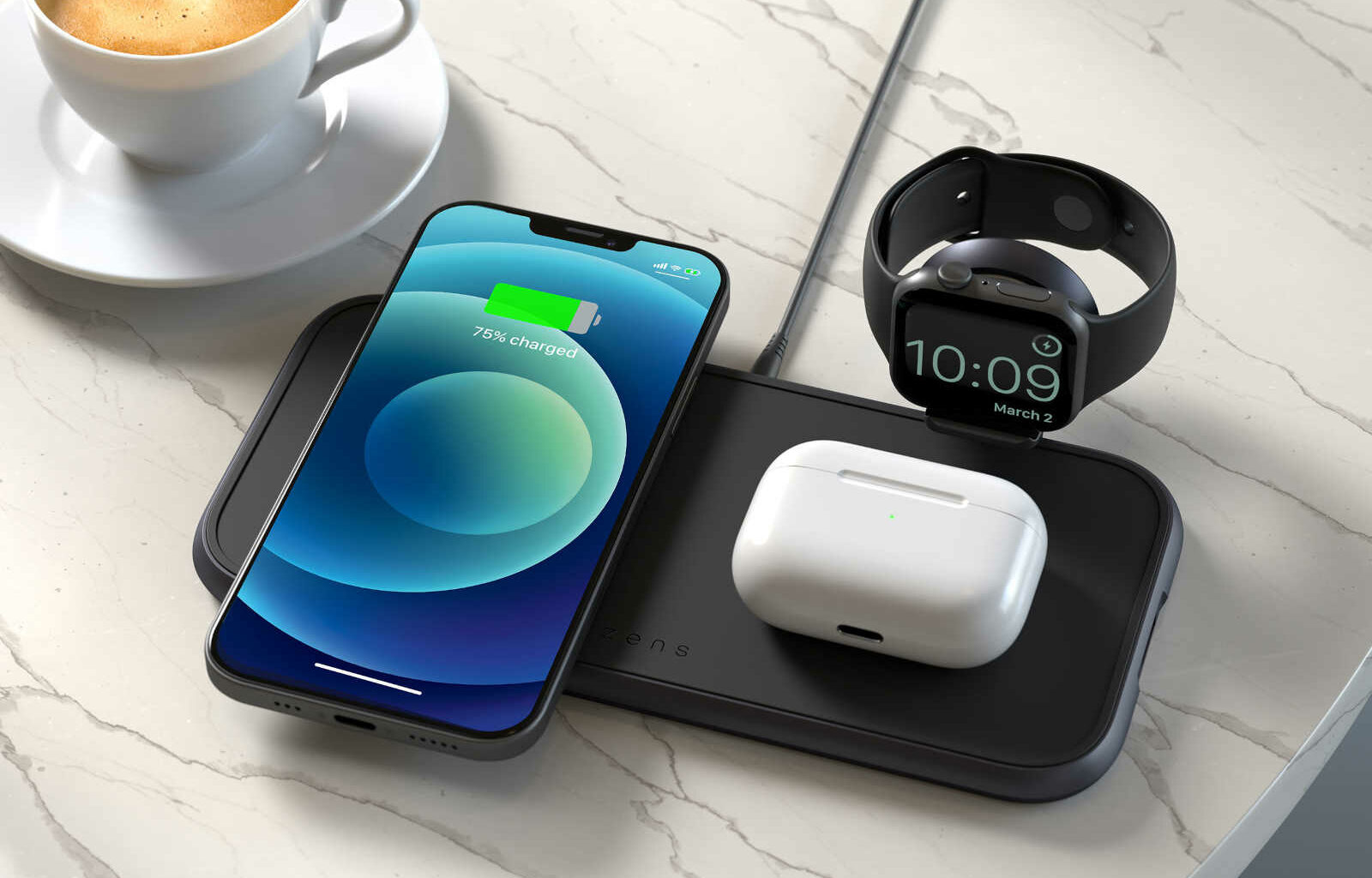 Zens 4-in-1 Wireless Charger