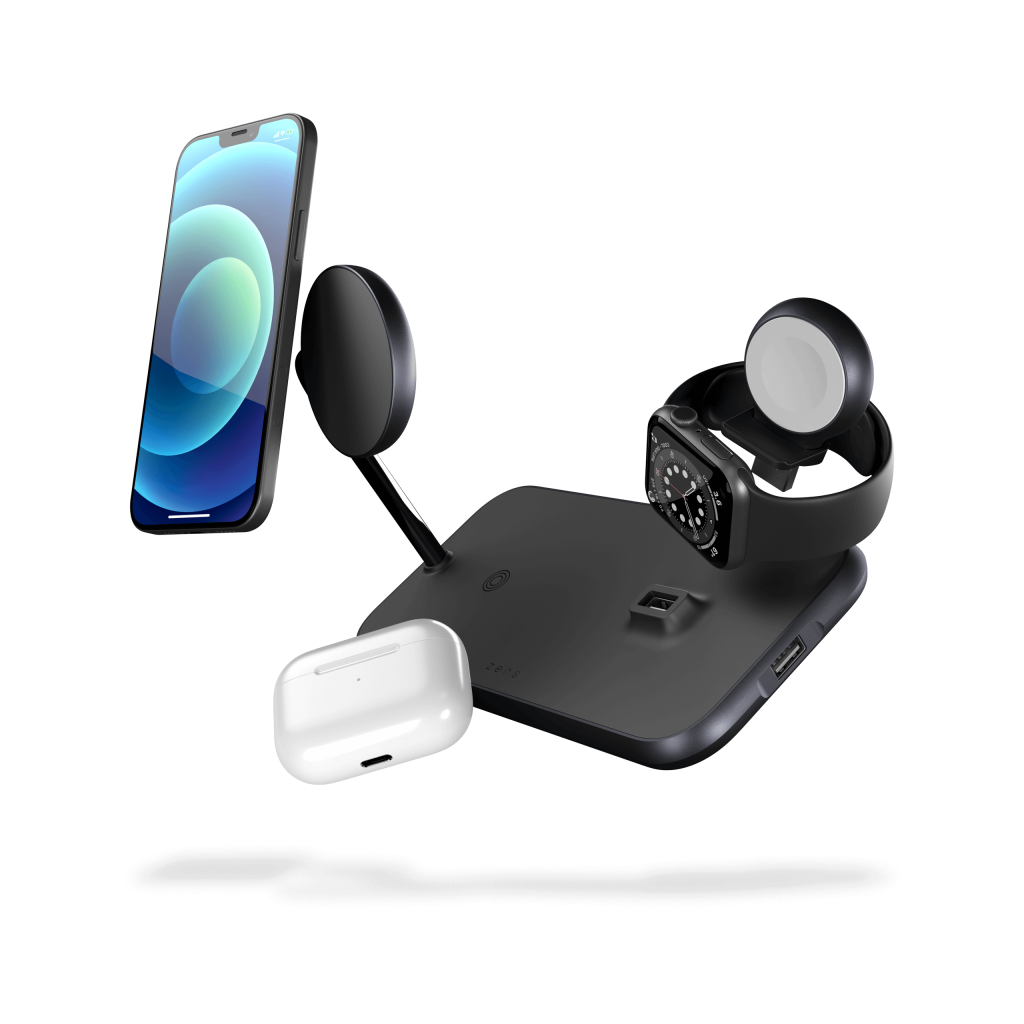 ZEDC18B - Magnetic + Watch Wireless Charger floating devices