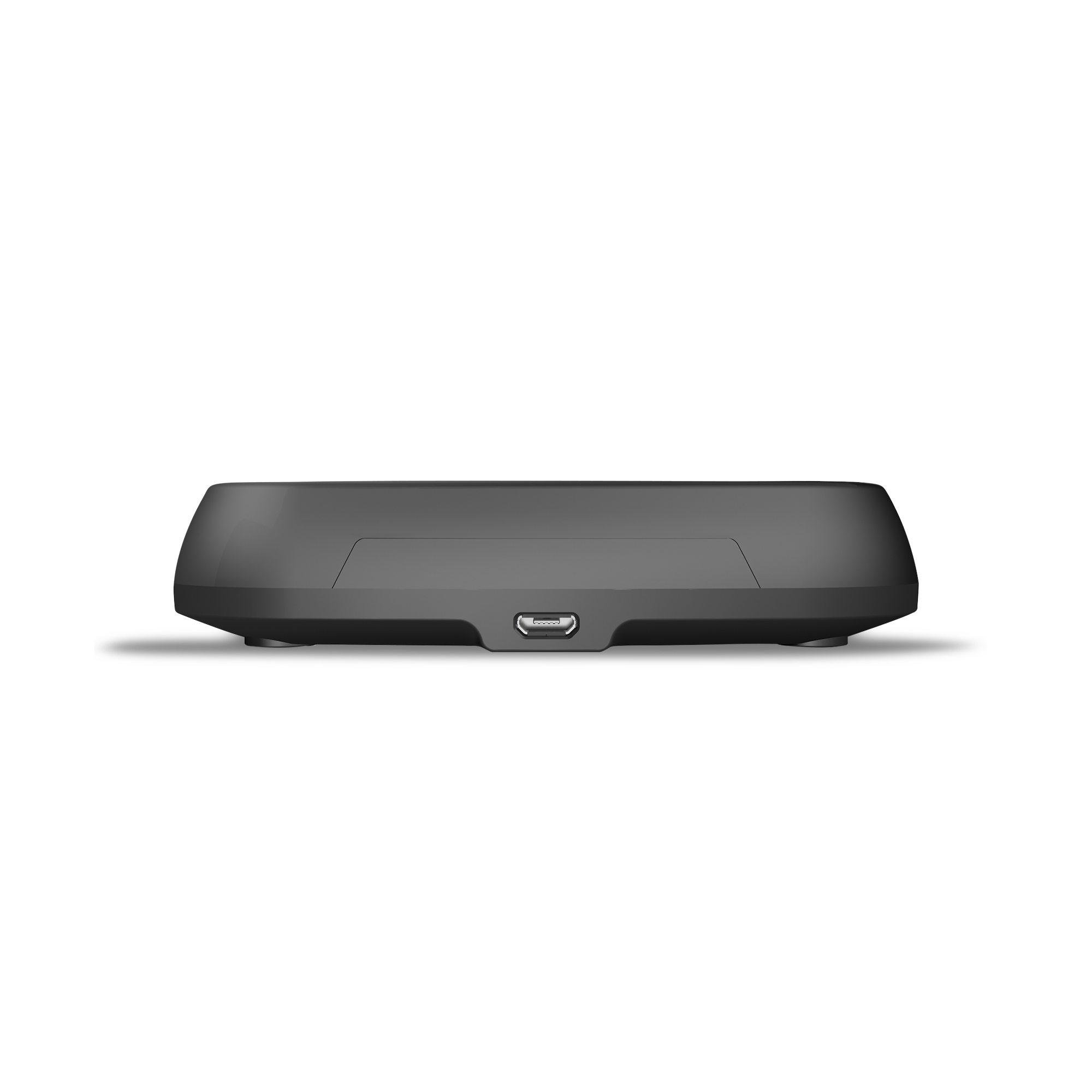 ZESC06B - Zens Fast Wireless Charger Stand Black Front View